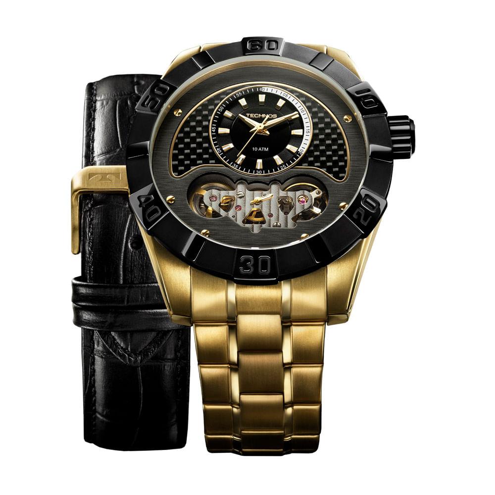 Relógio Technos Ts Carbon Masculino Analógico - 2039AO 4P ... bec8ff6b19