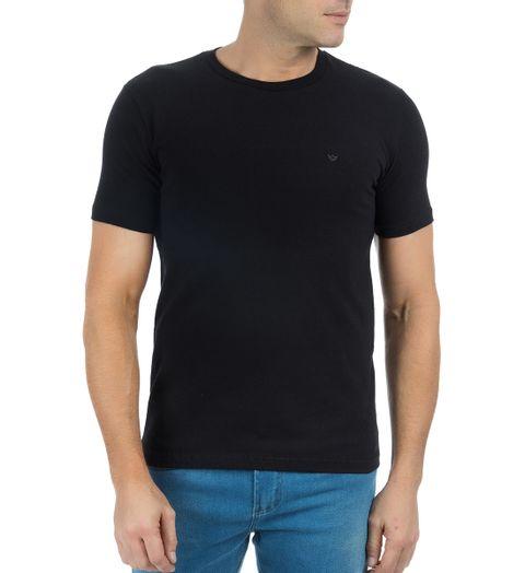 Camiseta-Masculina-Preta-