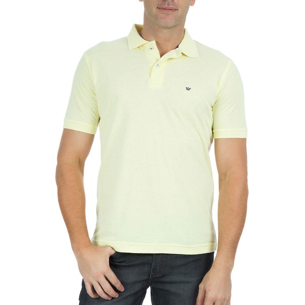 ... Camisa-Polo-Masculina-Lisa-Amarelo-. PRODUTO ADICIONADO A SACOLA ec10c80b079ed