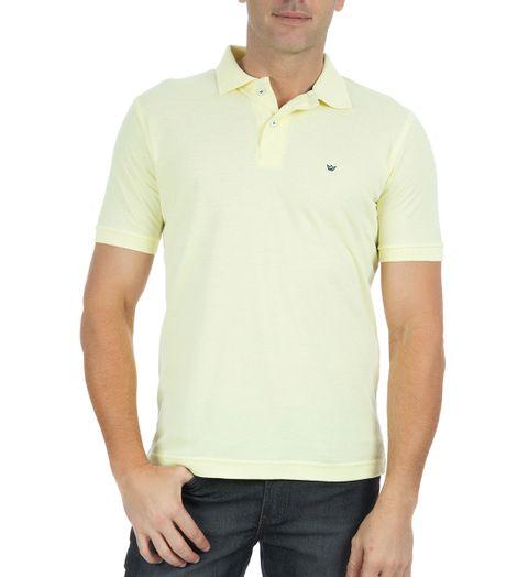 Camisa-Polo-Masculina-Lisa-Amarelo-