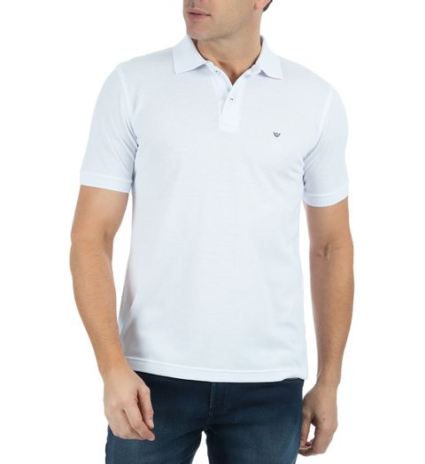 Camisa-Polo-Masculina-Lisa-Branca-