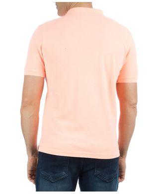 Camisa Polo Masculina Lisa Laranja Claro - V-MOB-Prod 2e2e393514d25