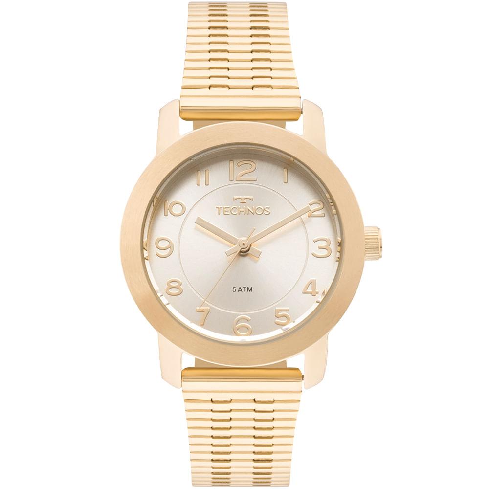 c0ab85c3aa0c5 Relógio Technos Feminino Elegance Boutique Dourado - 2035MLR 4B ...