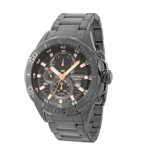 f4aada244f3d9 Relógio Technos Legacy Masculino Cronógrafo - JS15BA 3C