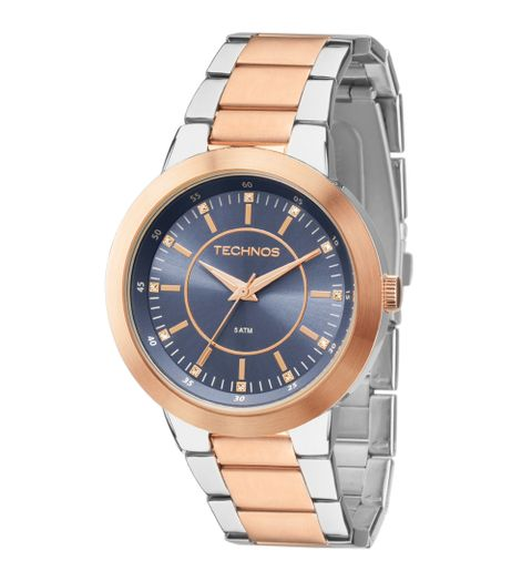 Relógio Technos Feminino Elegance Dress Rosé - 2115MOP 4C ... 0ef031c592