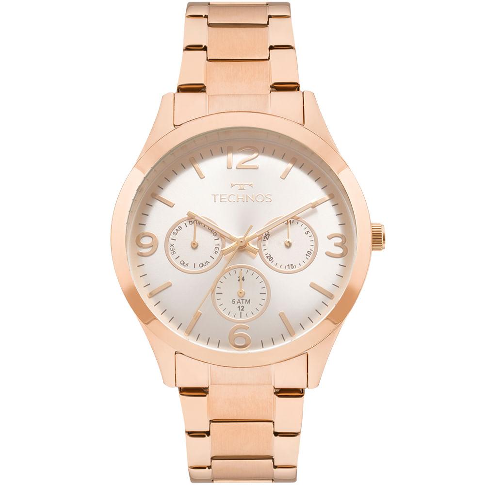 fa536cbb8cf Relógio Technos Feminino Elegance Dress Rosé - 6P29AJM 4K ...