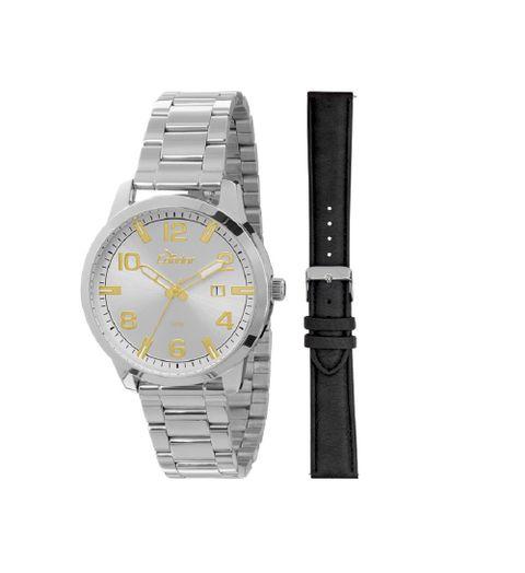 61eb905aaa2 Troca Pulseira Relógio Condor Masculino Analógico - CO2115TB 3B