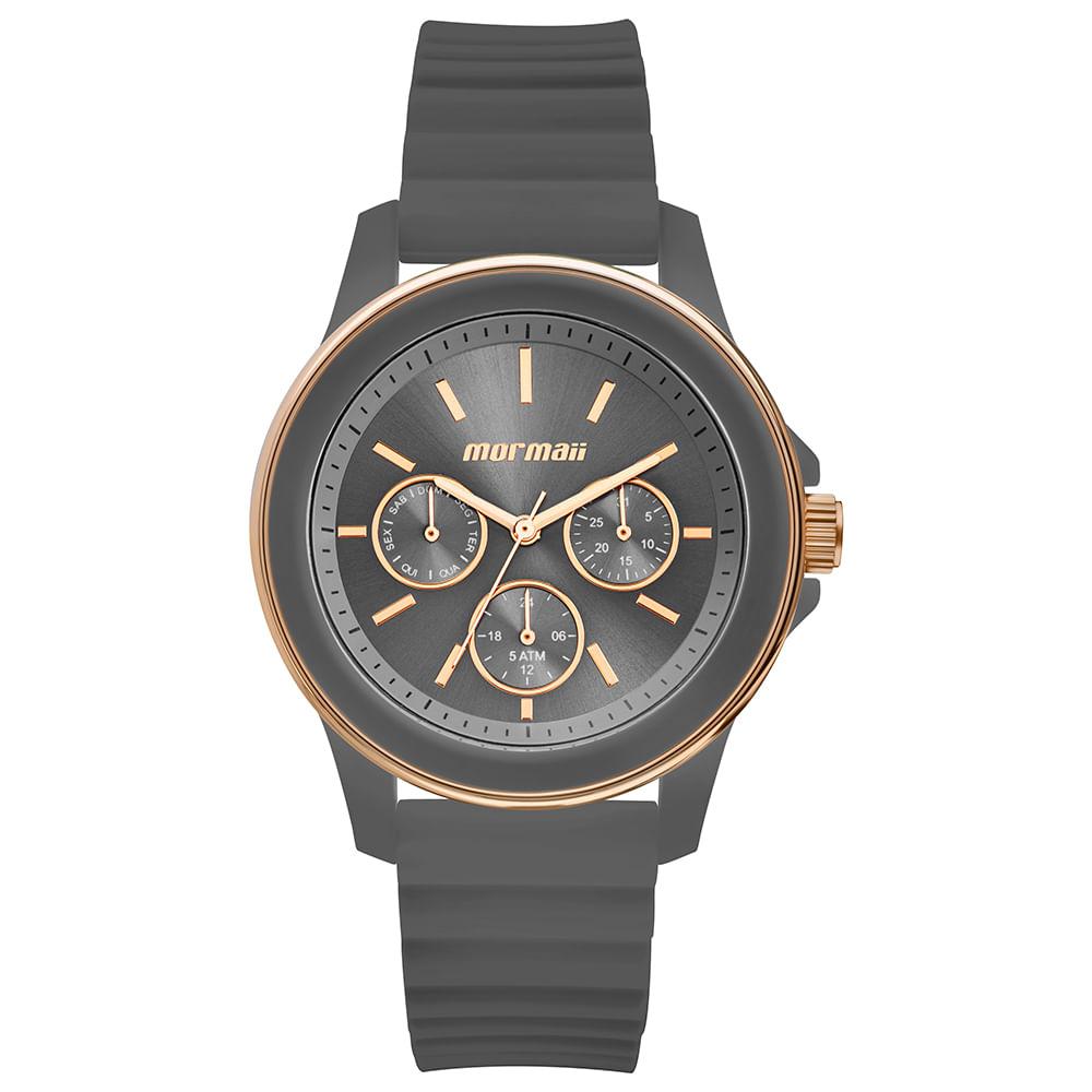 Relógio Mormaii Feminino Maui Rosé MO6P29AJ 8C - Camisaria Colombo 119f4e68cd