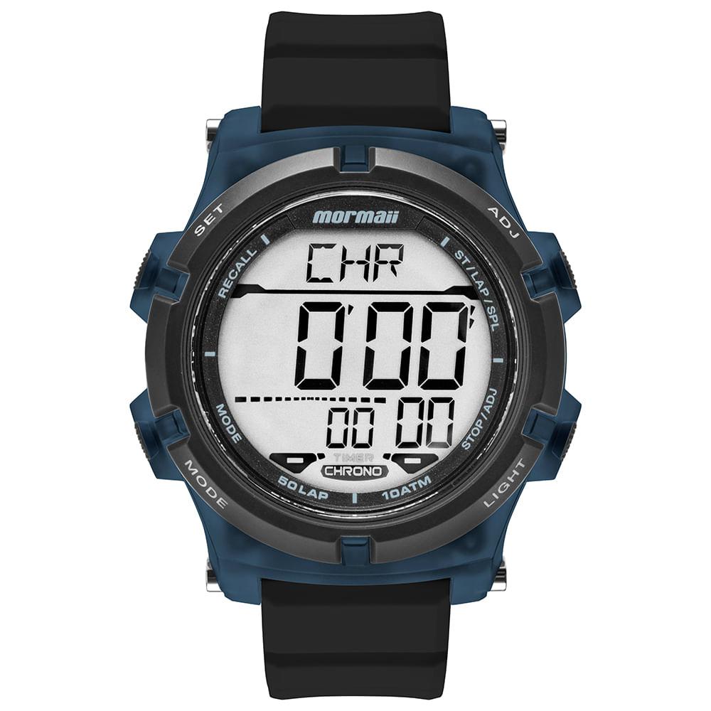 a54962ff14d Relógio Mormaii Masculino Acqua Preto MO1192AB 8A - Camisaria Colombo