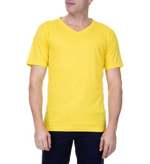 Camiseta-Masculina-Amarela-