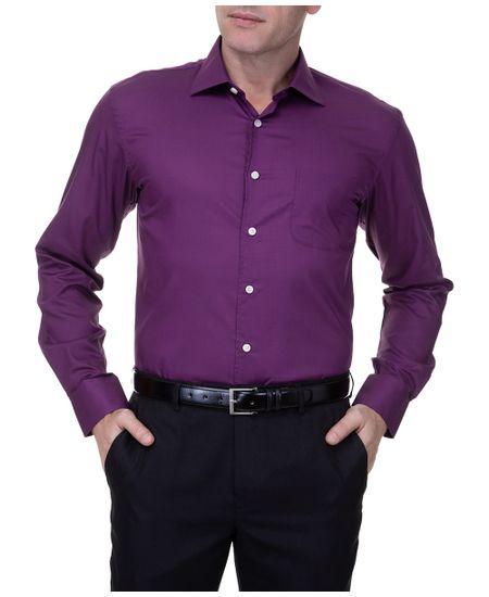 Camisa-Masculina-Lisa-Upper-Roxa-