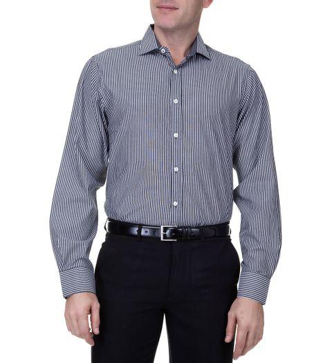 Camisa-Masculina-Com-Detalhe-Upper-Preta-