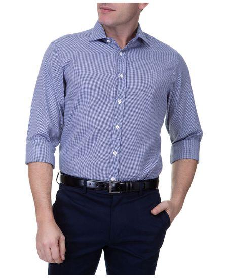 Camisa-Social-Masculina-Upper-Azul-Marinho-