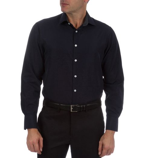 Camisa-Social-Masculina-Roxa-Lisa