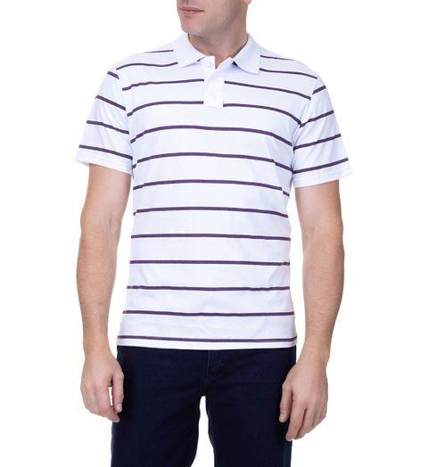 5243fc4573f0c Camisa Polo Masculina Roxa