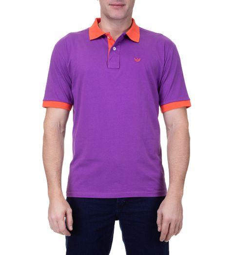 Camisa-Polo-Masculina-Bordada-Mescla