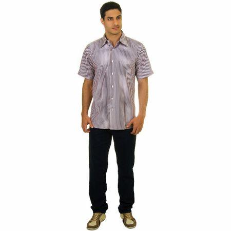 Calça Jeans Masculina Azul Marinho Lisa