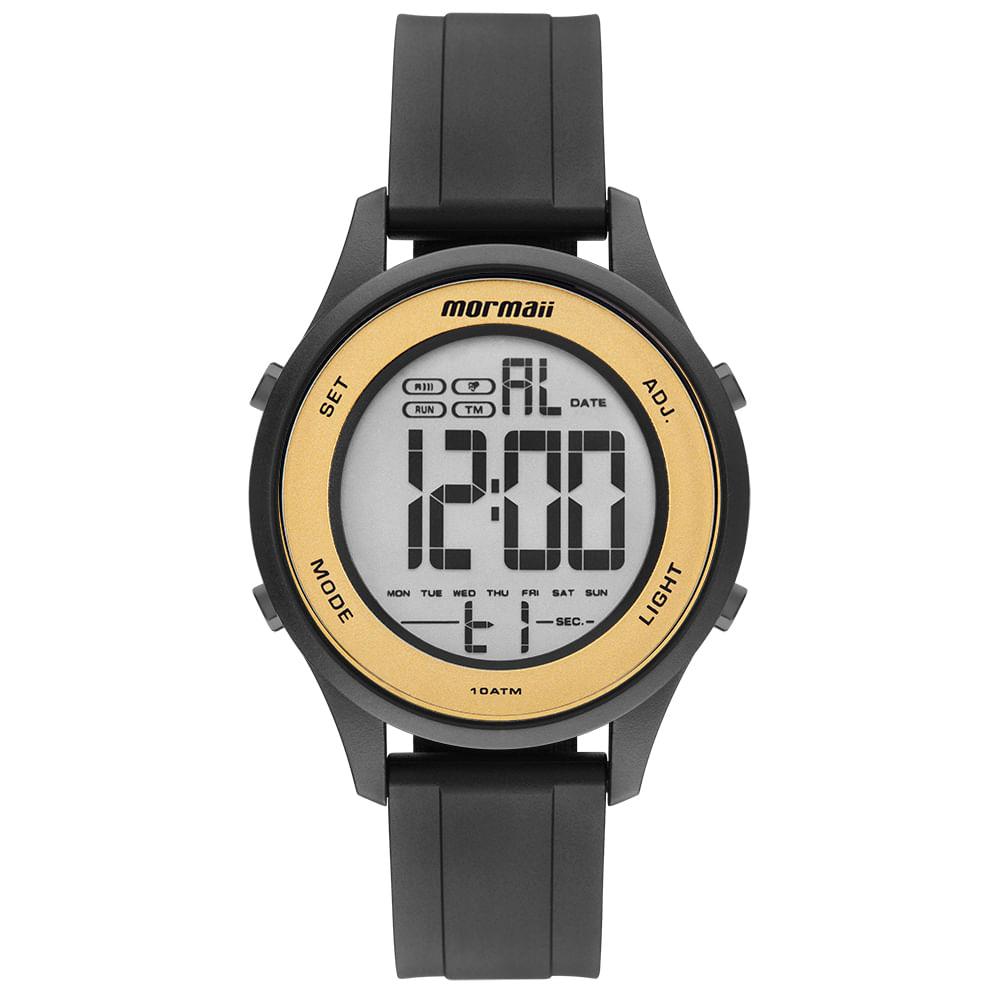 Relógio Mormaii Feminino Wave Preto MO6200 8D - Camisaria Colombo ac14ac8cbe