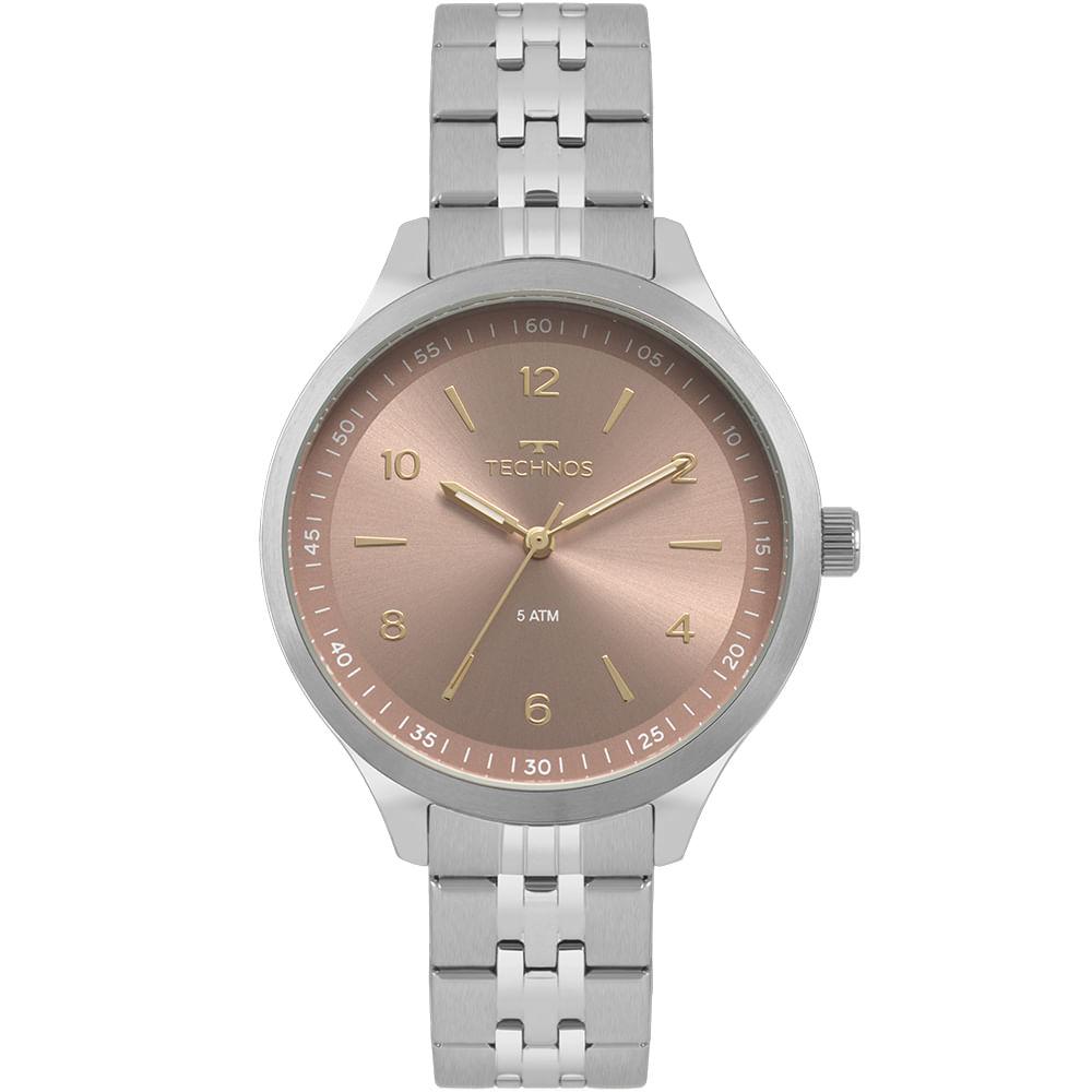 1c9cfb25290 Relógio Technos Feminino Dress Prata 2035MOU 1T - Camisaria Colombo