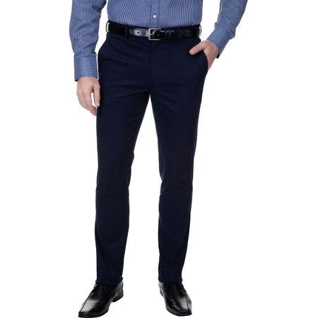Calça Sarja Masculina Azul Marinho Lisa