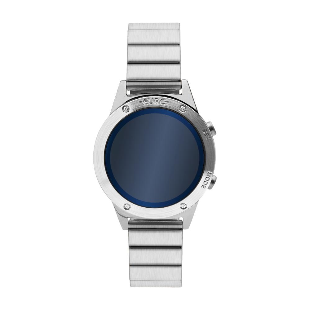Relógio Euro Feminino Fashion Fit Reflexos Prata EUJHS31BAA 3A ... b363ba4c42