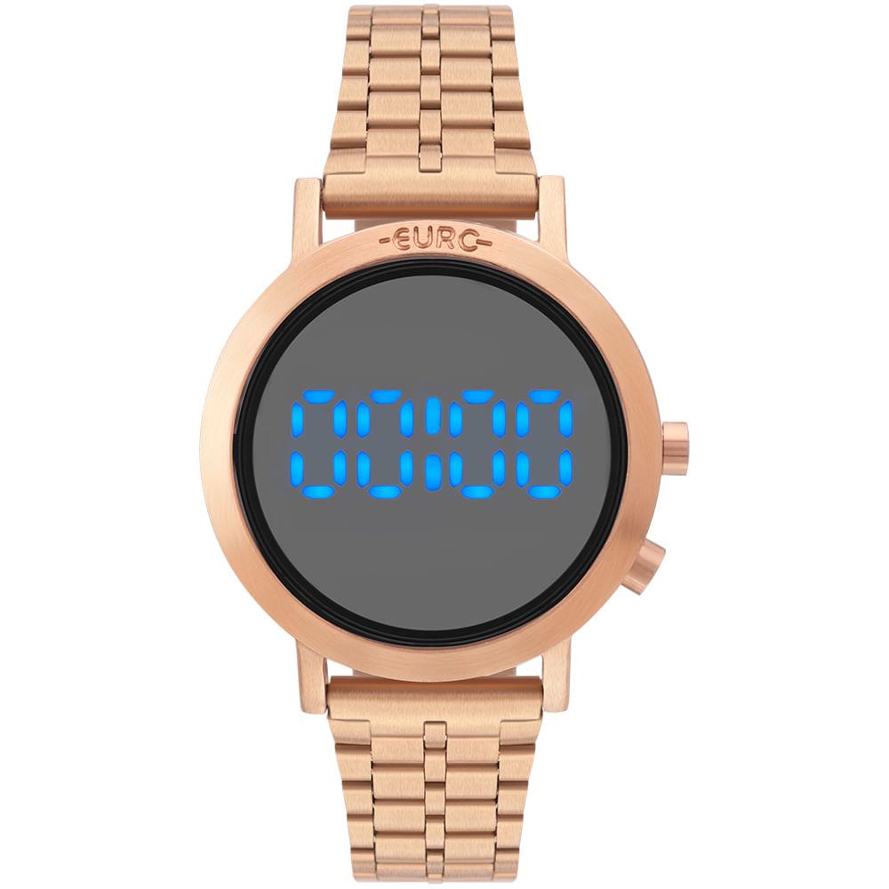16aa2a08bb26d Relógio Euro Feminino Fashion Fit Rosé - EUBJ3407AC T4C - Camisaria ...