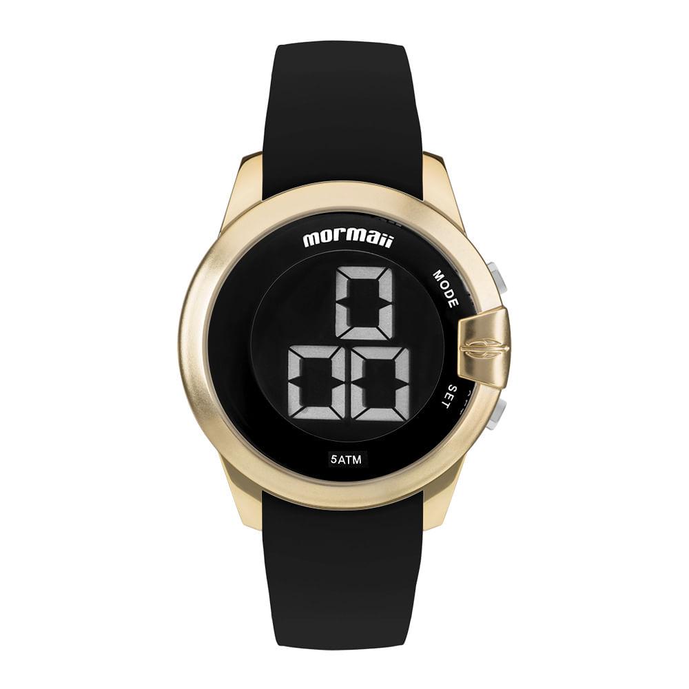 Relógio Mormaii Feminino Interestelar Dourado MOBJT007 8D ... 1120e92300