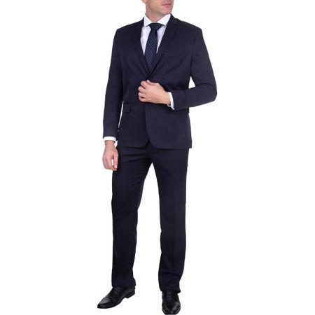 Terno Masculino Azul Marinho Maquinetado