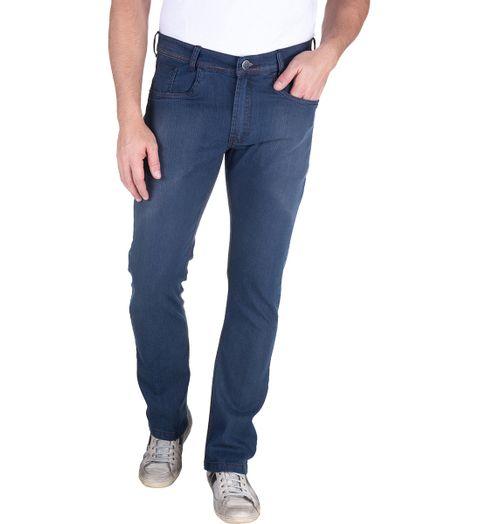 dbefed83a3d08 Calça Jeans Masculina Azul Lisa