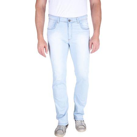 Calça Jeans Masculina Azul Lisa