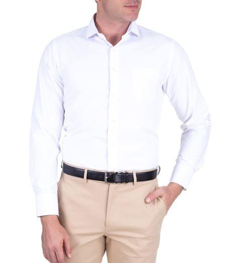 Camisa-Social-Lisa-Manga-Longa---65--Algodao35--Poliester-Branco