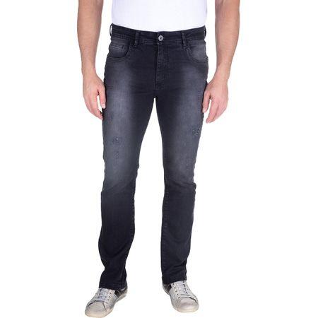 Calça Jeans Masculina Preta Lisa