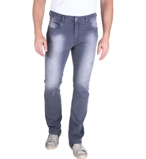 Calca-Jeans-Com-Lavagem-E-Puido-Elastano-Cinza