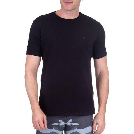 Camiseta Masculina Preta Lisa