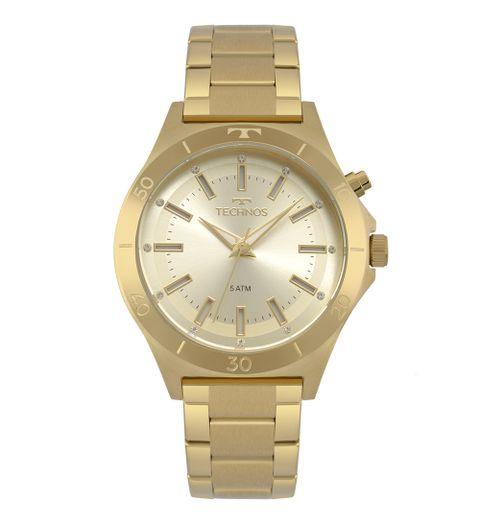 b639c2c454b3e Relógio Technos Feminino Trend Dourado Y121E3AA 4X