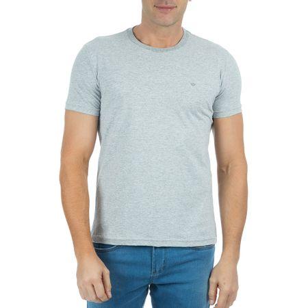 Camiseta Masculina Cinza Claro