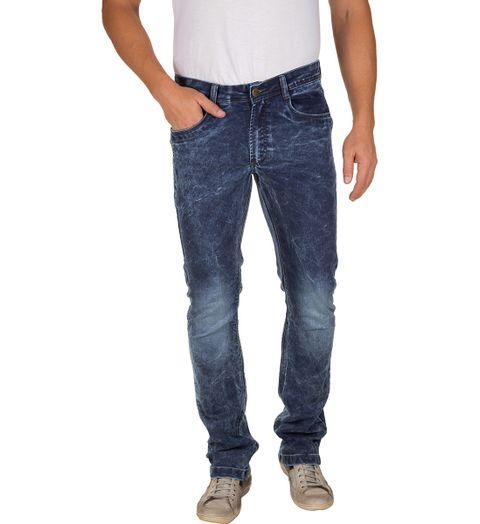 Calca-Jeans-Masculina-Azul-Escuro-Texturizada