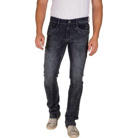 Calça Jeans Masculina Preta Texturizada