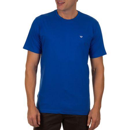 Camiseta Masculina Azul Escuro Lisa