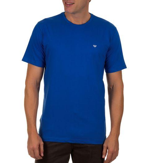 Camiseta-Masculina-Azul-Escuro-Lisa