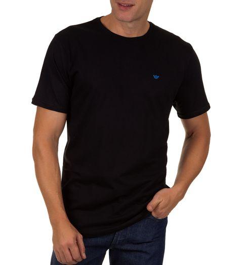 Camiseta-Masculina-Preto-Lisa
