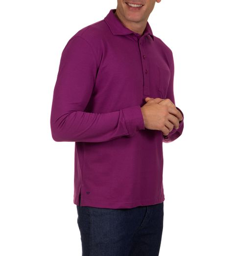 Camisa-Polo-Masculina-Roxo-Lisa