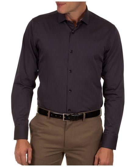 Camisa-Social-Masculina-Preto-Lisa