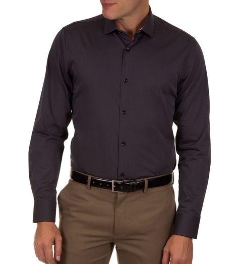 ddcd5438b0 Camisa Social Masculina Preto Lisa