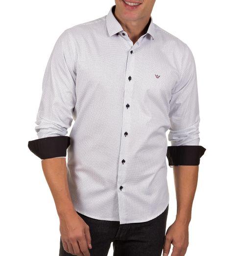 Camisa-Social-Masculina-Branca-Detalhada