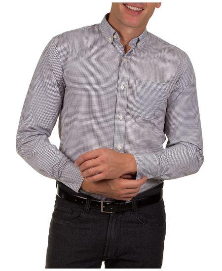 Camisa-Social-Masculina-Preto-Xadrez