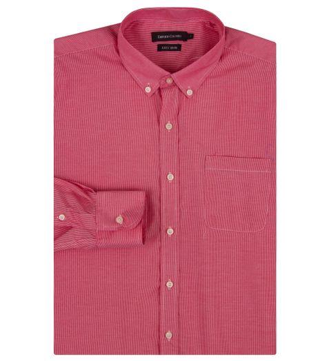 0f2ae79e83 Camisa Social Masculina Vermelha Listrada