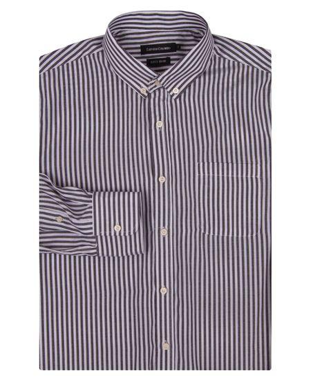 Camisa-Social-Masculina-Preto-Listrada