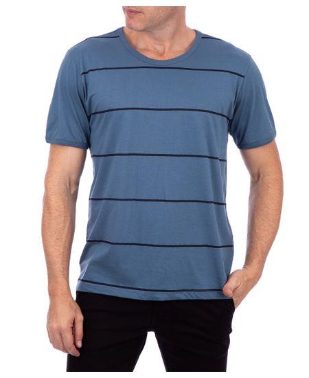 Camiseta-Manga-Curta-Listras-Azul