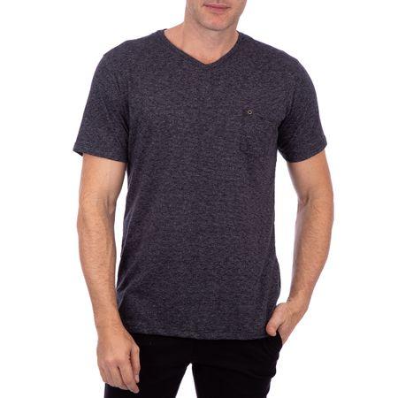 Camiseta Masculina Detalhada Cinza